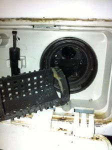 LG Front load washer filter