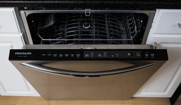 frigidaire dishwasher doesn't start
