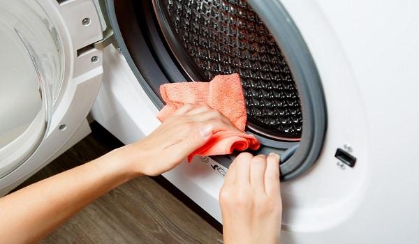 front load washer smells bad
