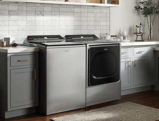 whirlpool dryer won't start but has power