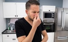 how do i get rid of the smell in my garbage disposal