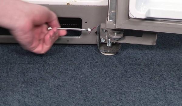 LG refrigerator leaking
