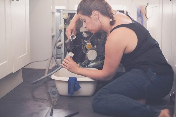 kitchenaid dishwasher not draining