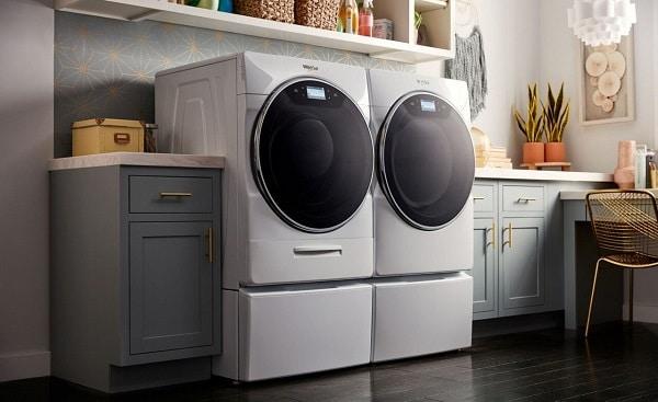 whirlpool dryer stinks